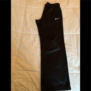 Black nike thermal pants
